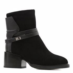 Ботинки зимние на каблуке - Фото №1