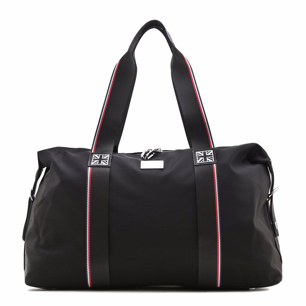 022311 Сумка для подорожей Balina, чорна, текстиль