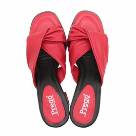 Шлепанцы на каблуке prego - Фото №4