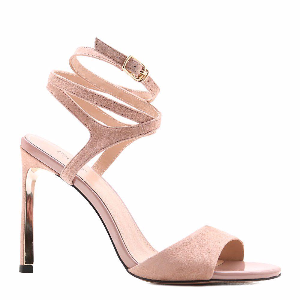 Купить Женская обувь, Босоножки на каблуке, Prego, розовый