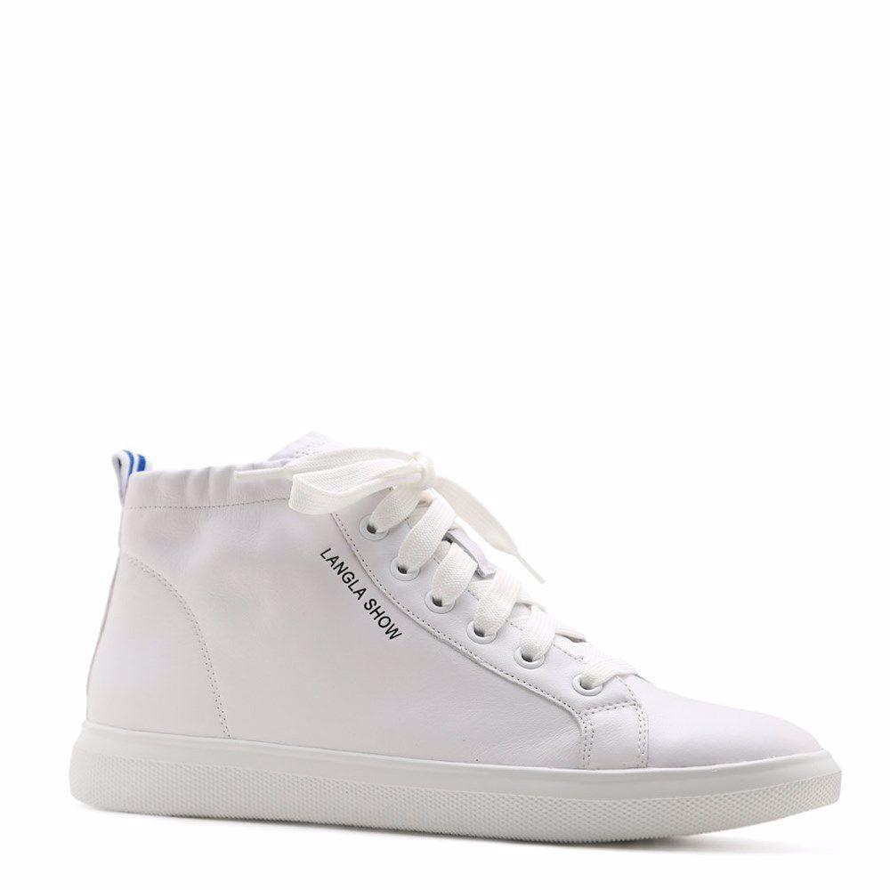 Купить БОТИНКИ НА НИЗКОМ ХОДУ, Ботинки осенние на низком ходу, Prego, белый