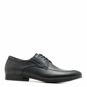 Туфли мужские с перфорацией - Фото №1