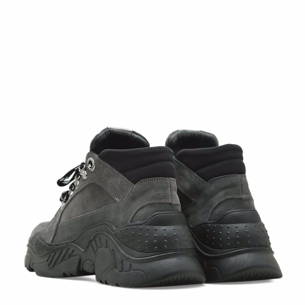 Фото 3 - Ботинки осенние на низком ходу от Prego цвет сірий