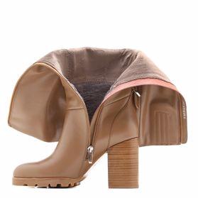 Сапоги зимние на каблуке - Фото №2