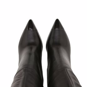 Сапоги осенние на каблуке - Фото №4
