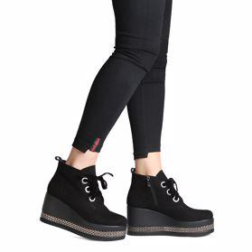 Ботинки осенние на платформе - Фото №6