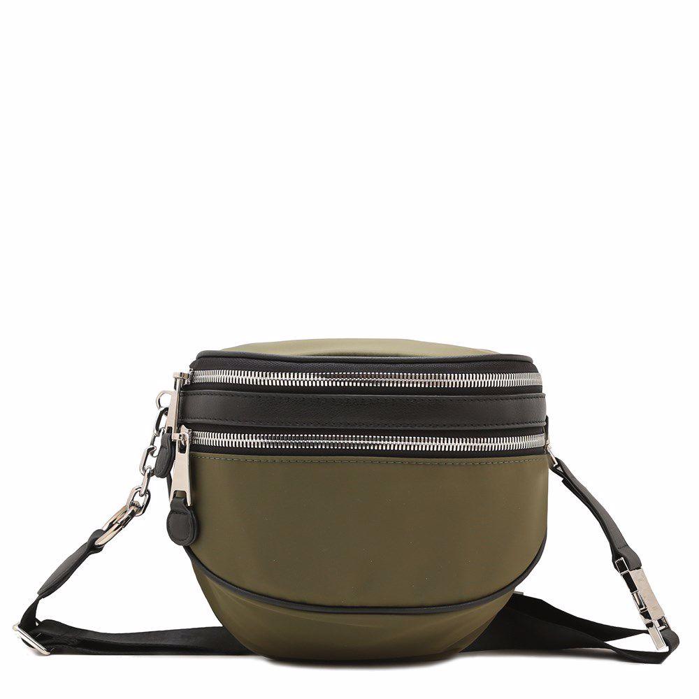 022248 Сумка на пояс Balina, оливкова, текстиль