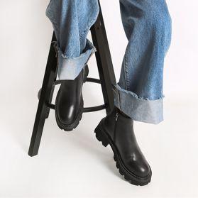 Ботинки зимние на каблуке prego - Фото №6