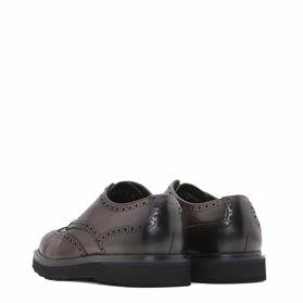Классические зимние мужские туфли - Фото №3
