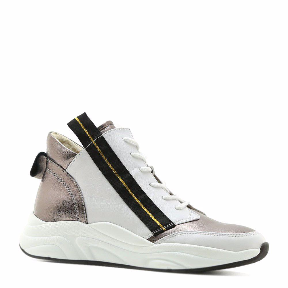 Купить БОТИНКИ НА НИЗКОМ ХОДУ, Ботинки весенние на низком ходу, Prego, белый