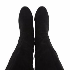 Сапоги зимние на каблуке - Фото №4