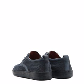 Туфли мужские с перфорацией prego - Фото №3