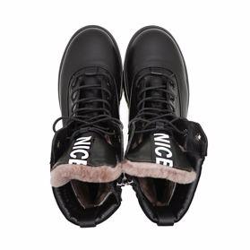 Ботинки зимние на платформе - Фото №4