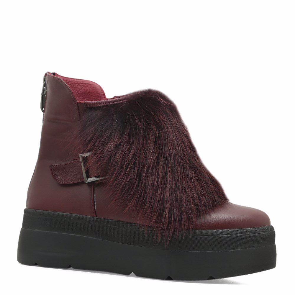 Купить со скидкой Ботинки зимние на платформе