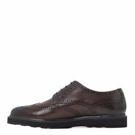 Классические зимние мужские туфли - Фото №2