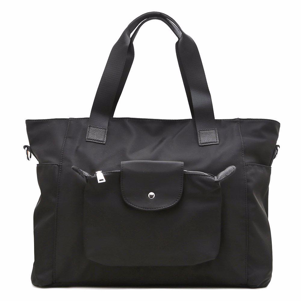 022278 Сумка для подорожей Balina, чорна, текстиль