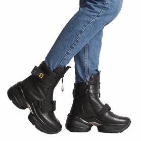 Ботинки зимние на платформе - Фото №6