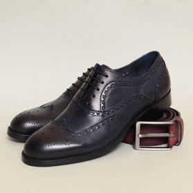 Классические мужские туфли prego - Фото №6