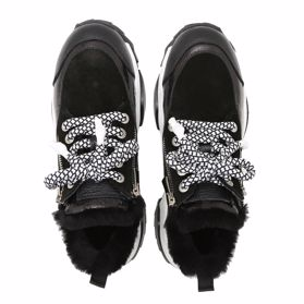 Туфлі зимові на низькому ходу - Фото №4