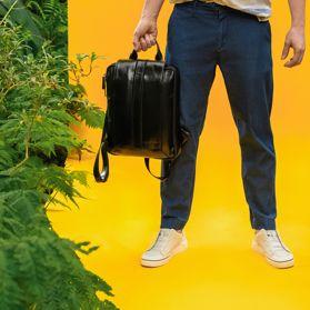Рюкзак чоловічий з натуральної шкіри - Фото №6