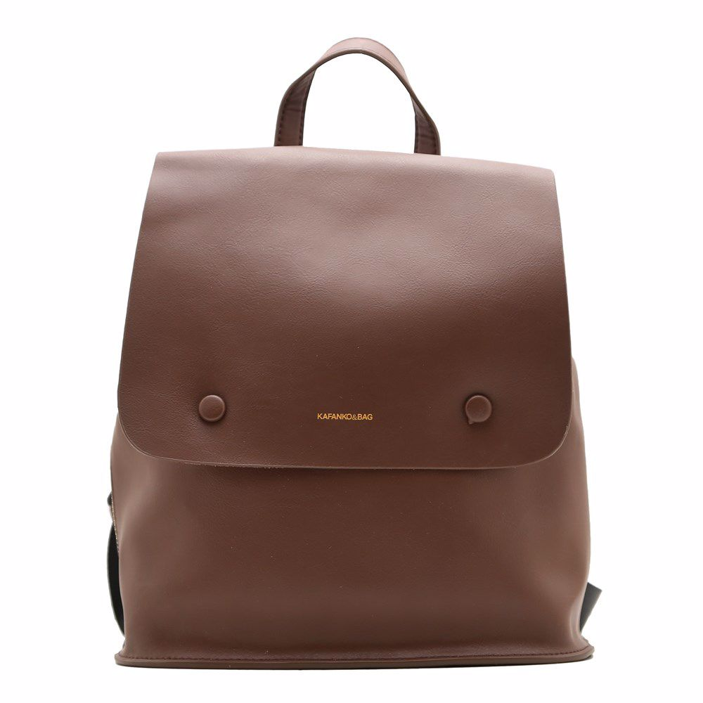 021560 Рюкзак жіночий шкіряний Balina, коричнева, натуральна шкіра