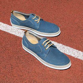 Туфли мужские с перфорацией prego - Фото №6