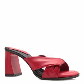 Шлепанцы на каблуке prego - Фото №1