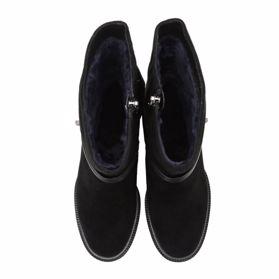 Ботинки зимние на каблуке - Фото №4