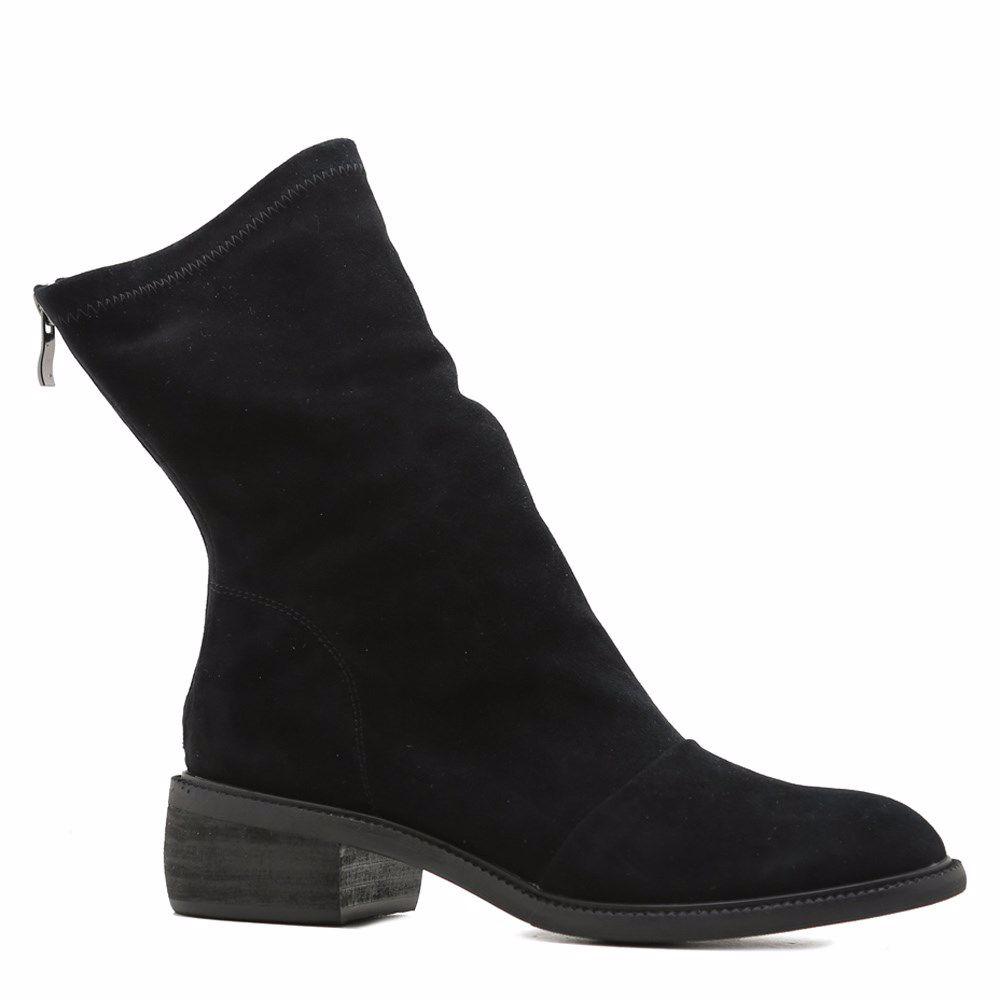 Купить БОТИНКИ НА НИЗКОМ ХОДУ, Ботинки осенние на низком ходу, Prego, черный