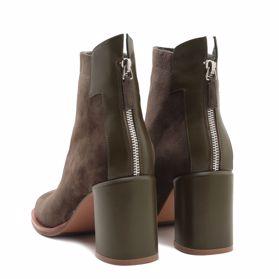 Ботинки весенние на каблуке prego - Фото №3