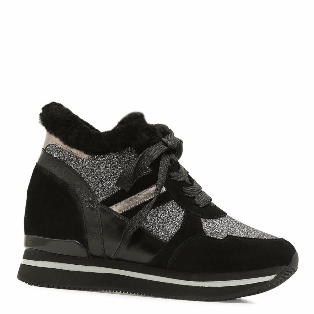 Купить Зимние ботинки на платформе, Ботинки зимние на платформе, Prego