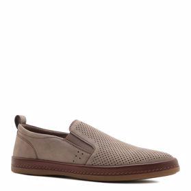 Туфлі чоловічі з перфорацією prego - Фото №1