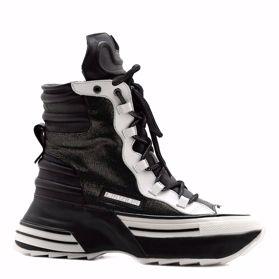 Ботинки зимние на платформе - Фото №1