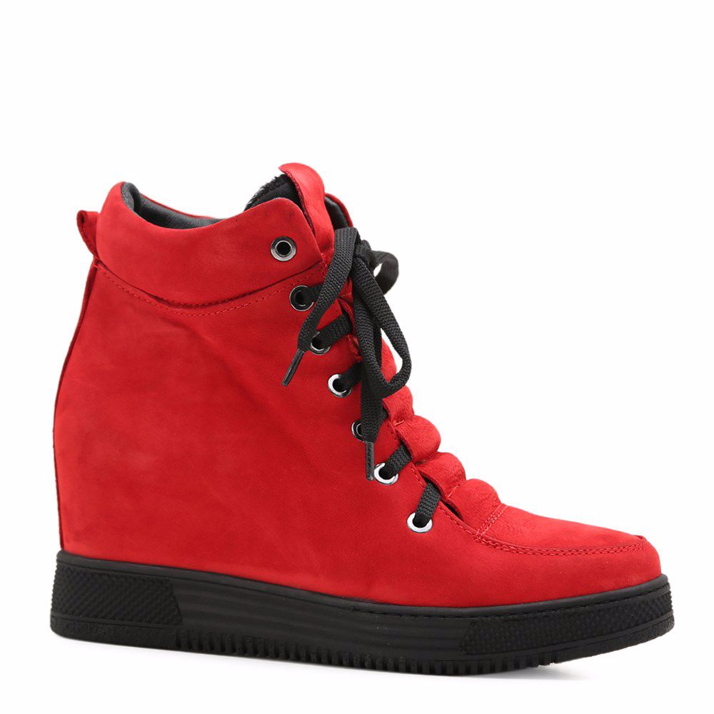 Купить Ботинки на платформе, Ботинки осенние на платформе, Prego