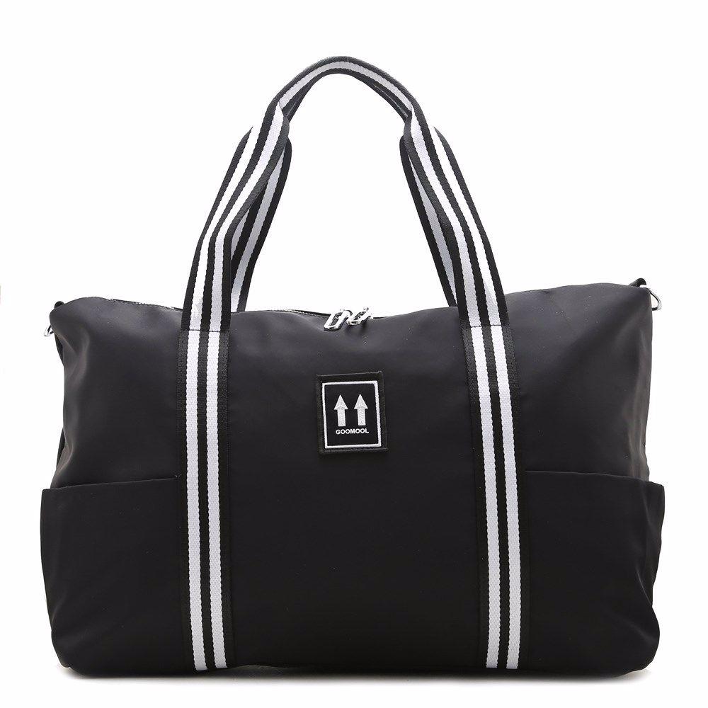022344 Сумка для подорожей Balina, чорна, текстиль
