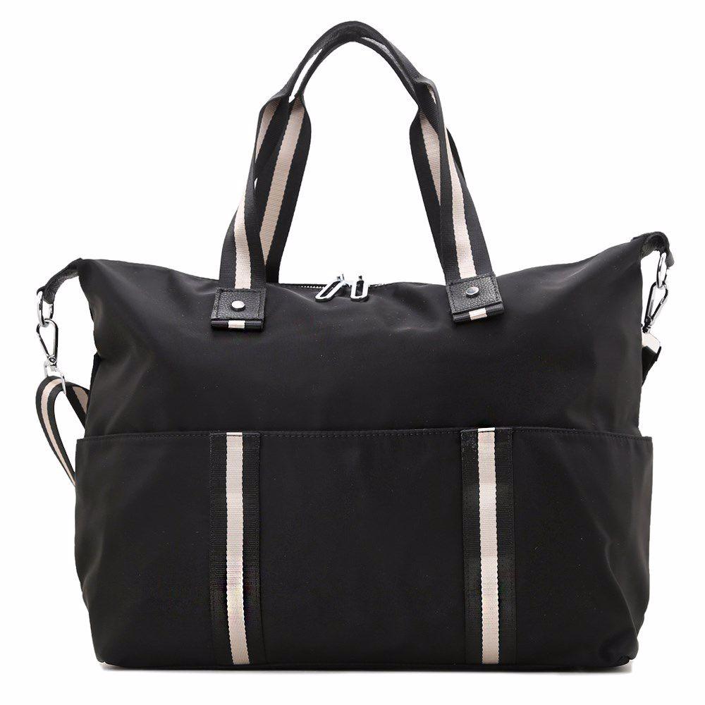 019980 Сумка для подорожей Balina, чорна, текстиль