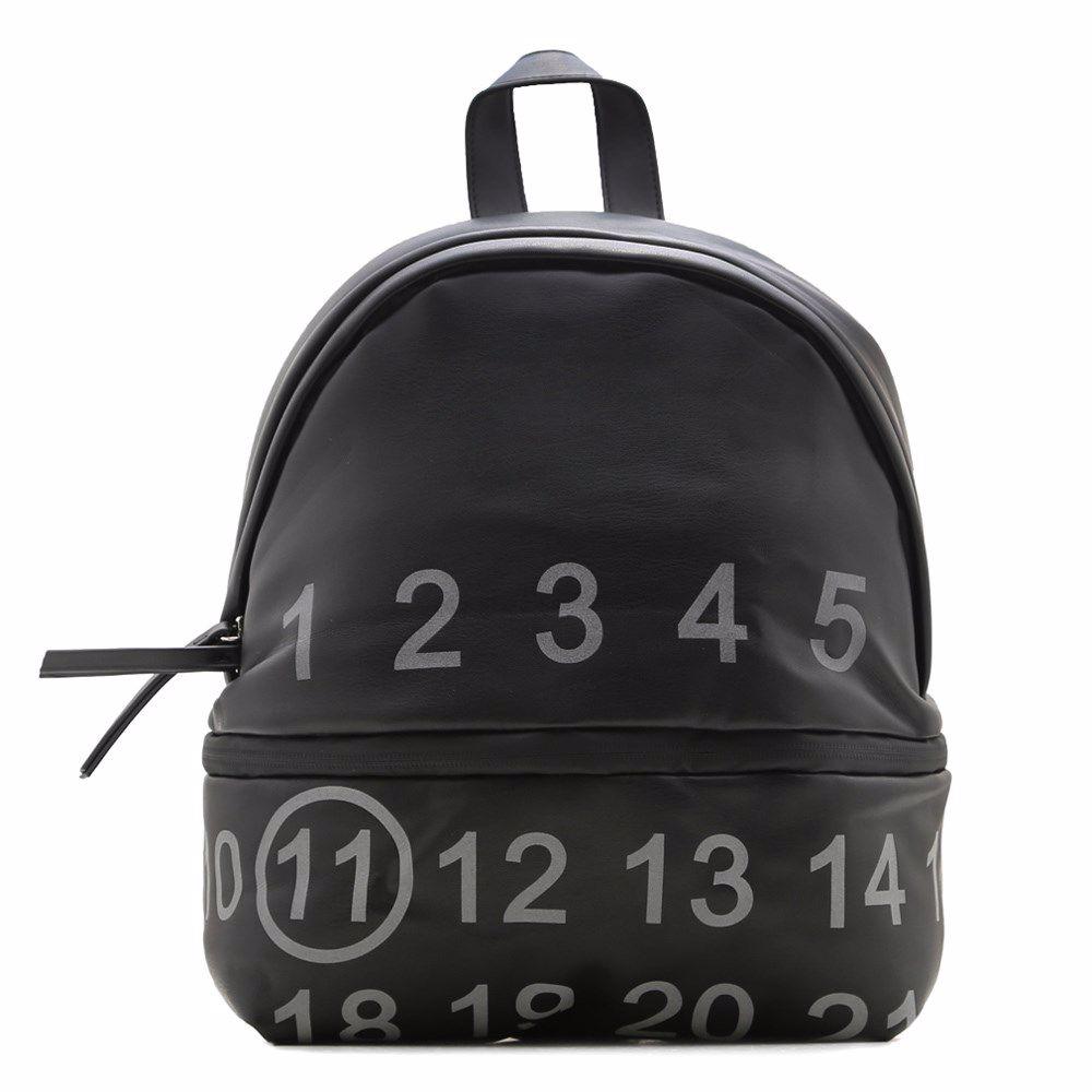 020432 Рюкзак жіночий SAVENO, чорна, екошкіра