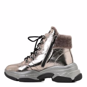 Ботинки зимние на платформе - Фото №2