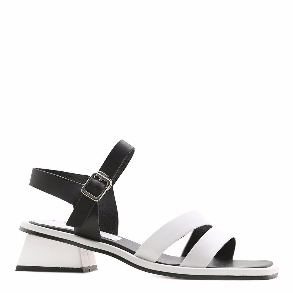 Купить Женская обувь, Босоножки на каблуке, Prego, белый