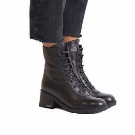 Ботинки зимние на каблуке - Фото №6