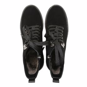 Ботинки зимние на каблуке prego - Фото №4