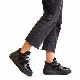 Туфли зимние на низком ходу - Фото №6