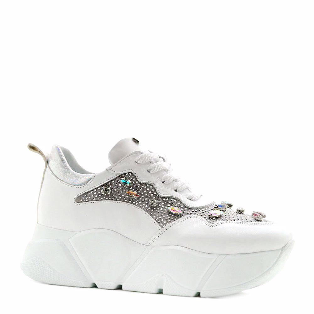 Купить Женская обувь, Кроссовки женские, Prego, белый