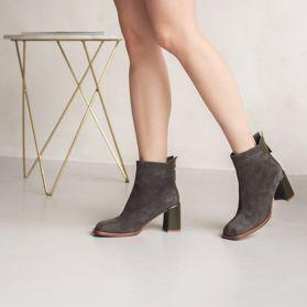 Ботинки весенние на каблуке prego - Фото №6