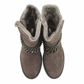 Ботинки зимние на танкетке - Фото №4