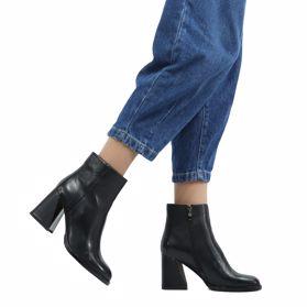 Ботинки осенние на каблуке - Фото №6