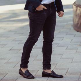 Туфли мужские с перфорацией - Фото №6