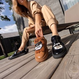 Туфлі зимові на низькому ходу prego - Фото №6