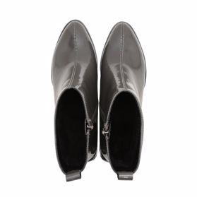 Ботинки осенние на каблуке - Фото №4