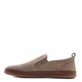 Туфлі чоловічі з перфорацією prego - Фото №2